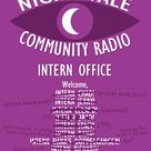 I made a poster for the door of the Night Vale interns' office!