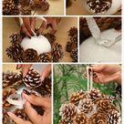 Weihnachtsbaumschmuck aus Naturmaterialien   30 Ideen
