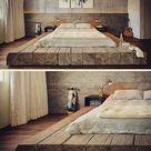 Подиум кровать из старинного дерева. Такой … - Outdoor Ideas