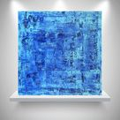 """Abstract Acrylic Painting 