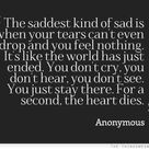 Sadness And Tears