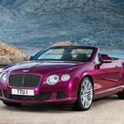 The new Bentley Continental GT Speed Convertible