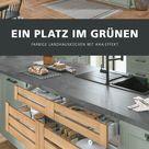 Grüne Küchen im Landhausstil