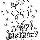 happy birthday - TopKleurplaat.nl