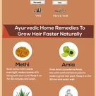 12 Effective Ayurvedic Remedies For Hair Fall And Hair Regrowth #beautytips, #SkinCare #haircare