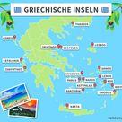 Griechische Inseln - die 15 schönsten Inseln im Überblick 2021 (mit Karte)
