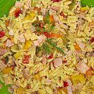 Reisnudelsalat mit bunter Paprika und Käse von schwarztoast   Chefkoch