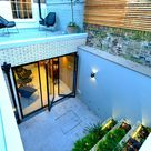 """IQ Glass on Instagram: """"Gibson Square: IQ Glass was involved in the renovation of this basement space and exterior courtyard in London. The renovated basement…"""""""
