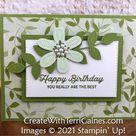 Paper Blooms Designer Series Paper & In Bloom Bundle (video) - Create With Terri Gaines