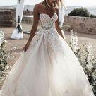Hochzeitskleider Prinzessin Spitze   Brautkleid A Linie Online