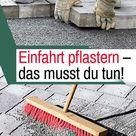 Einfahrt pflastern    selbst.de