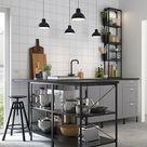 ENHET Struttura base con ripiani, antracite, 60x60x75 cm - IKEA IT