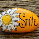 Painted Rocks by HeartandSoulbyDeb on Etsy
