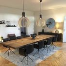 Dining room idea - diff chairs thou - Extension