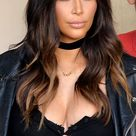 Kim Kardashian Ombre