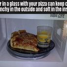 Reheating Pizza