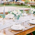 Romantic Flora Farms Wedding in Blue Hues Planned by Events by Bliss Featured on Carats & Cake