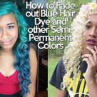 How to Remove Semi-Permanent Hair Dye from your Hair!
