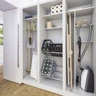 Durch den Küchenschrank in die Speisekammer: Küche und Hauswirtschaftsraum von Leicht, Schüll...