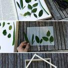 DIY Florale Lichtbox selber bauen: So funktioniert es! | schereleimpapier