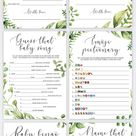Printable Invitations Games and Party Decorations by LittleSizzle
