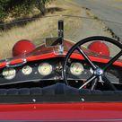 Alfa Romeo 6C 1500 Sport Spider tre posti dashboard