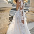 Suberb Findlovewedding Wedding Dresses for Bride 2021 with Lace Appliques