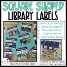 Classroom Library Labels (Square Shaped)