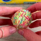 Golden Oreo Sprinkle Truffles!
