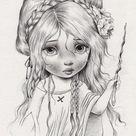 ▷ Zeichnen lernen mit Bleistift – selbst Kunst schaffen