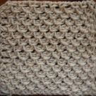 Tunisian Crochet Stitches