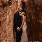Desert Elopement In Moab, Utah   Arches National Park Adventure Wedding