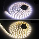 USB LED Kitchen strip flashing light - 1m / Warm White with switch