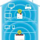 AVM Fritz!Repeater 600 International - Repetidor/Extensor WiFi N (4 x 4), 600 Mbps, 2,4GHz, Mesh, WPS, Interfaz en Español