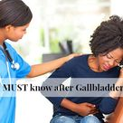 Facts you MUST know after Gallbladder Surgery - Crystal Chester