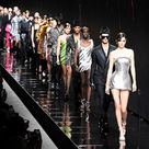 Kendall Jenner joins Bella Hadid and Kaia Gerber on the Versace runway