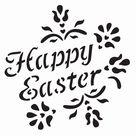 Easter Egg Stencil Printable