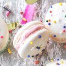 Cake Batter Macarons Recipe | Yummly