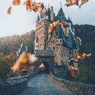 A nice Fall day at Eltz Castle , Germany
