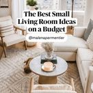 The Best Small Living Room Ideas on a Budget