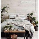 scandinavian bedroom plants