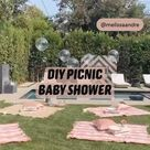 DIY PICNIC  BABY SHOWER