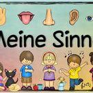 """Blog     Themenplakat """"Meine Sinne"""""""