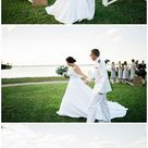 White Orchid at Oasis Wedding {Jenna & Will} • Real Weddings