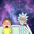 Reddit - trees - Stoned Rick and Morty phone background [OC]