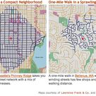 Two Maps Show How We Designed Walking Out of the Suburbs