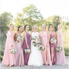 Mismatched Bridesmaids Dresses | Rose Courts photography