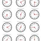 Clock Time Worksheets