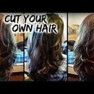 How To Cut Your Own Hair in Layers at Home │ DIY Layers for Long Hair