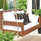 Suberb DIY Budget Porch Swing